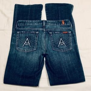 7 For All Mankind A Pocket jeans size 28